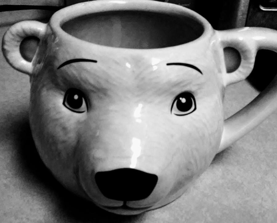 """polar bear mug from """"World of Coke"""""""